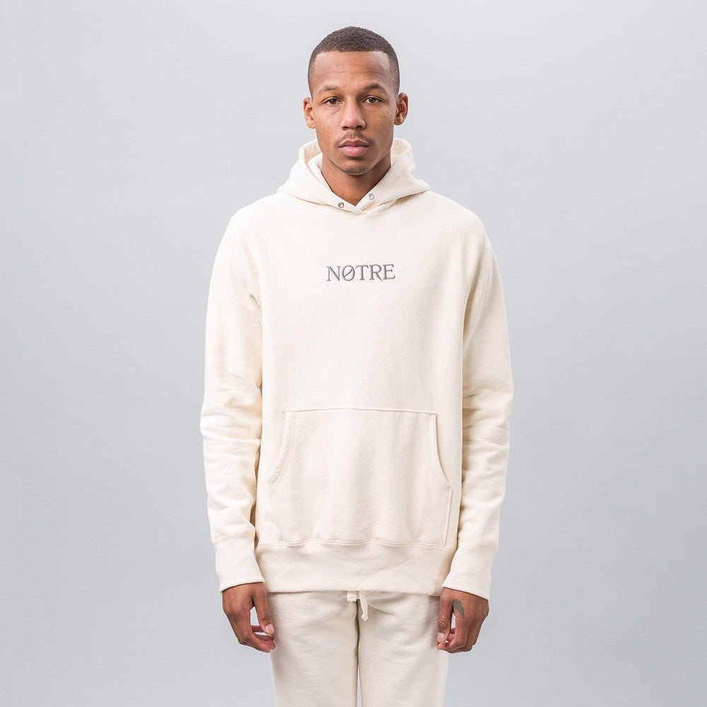 Notre Logo Hoodie in Natural Notre 1