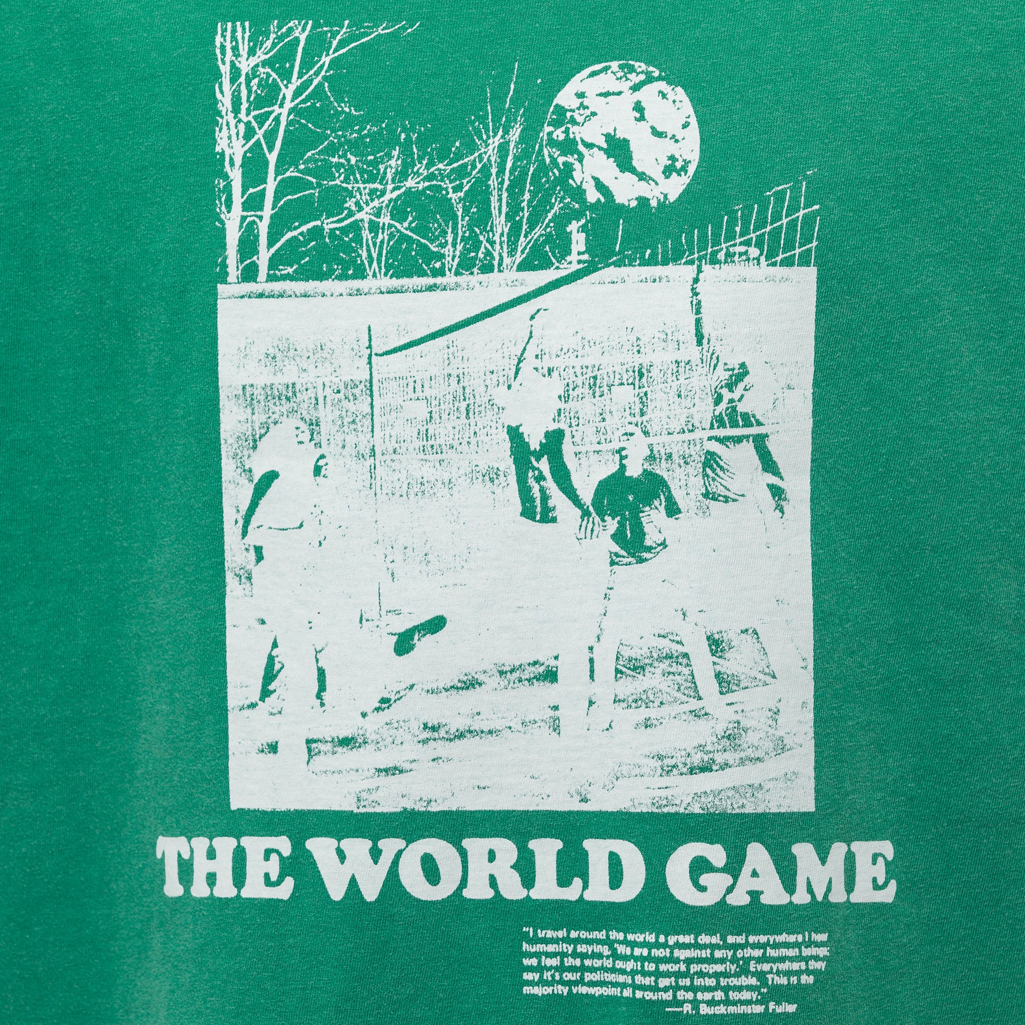 World Game T-Shirt in Kelly