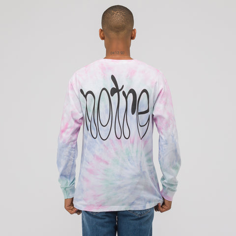 Notre Access to Tools LS T-Shirt in Tie Dye - Notre