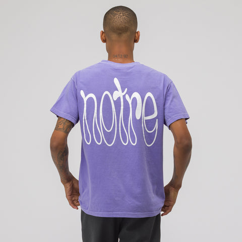 Notre Access to Tools SS T-Shirt in Violet - Notre
