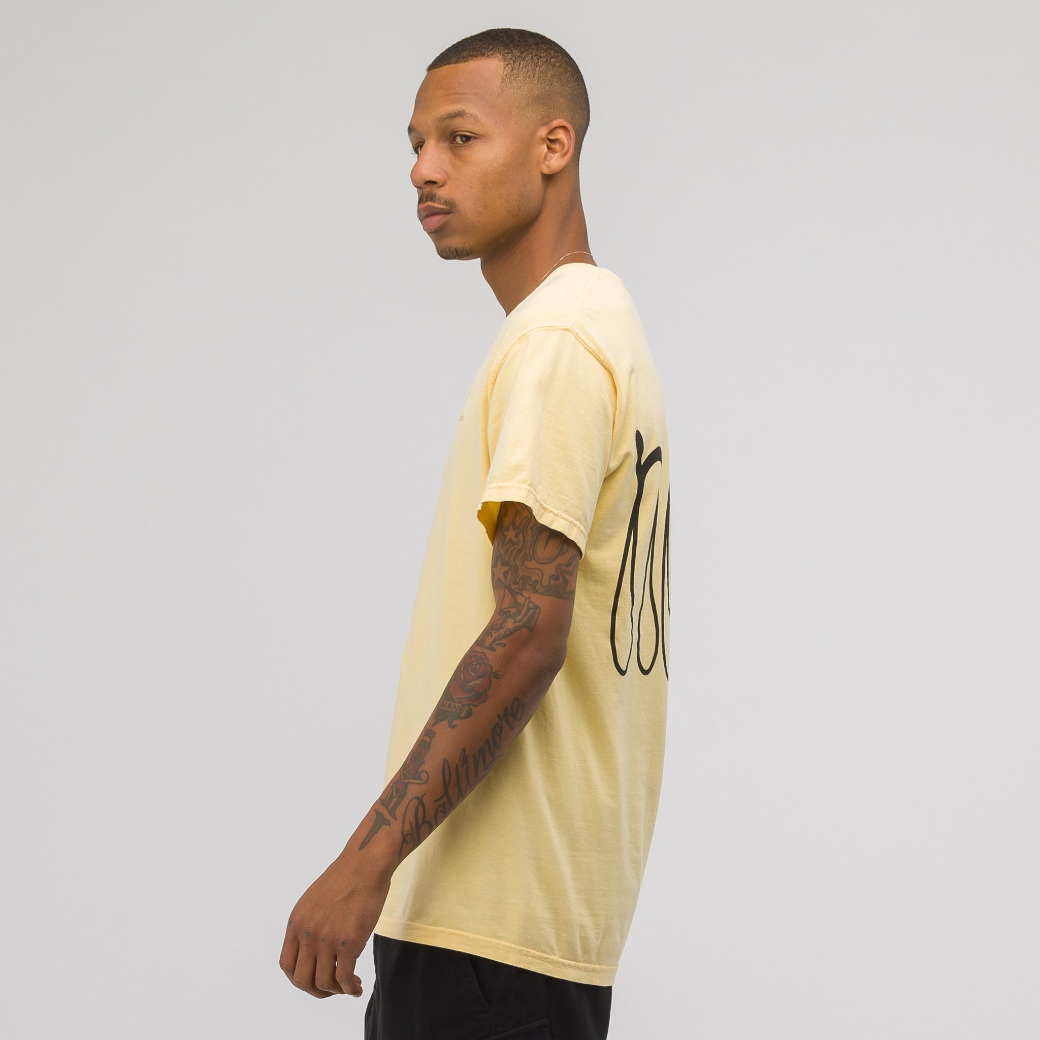 Access to Tools SS T-Shirt in Yellow