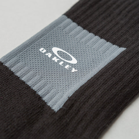 Oakley by Samuel Ross Metal Detail Socks in Black - Notre