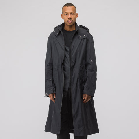 Oakley by Samuel Ross Long Coat in Black - Notre