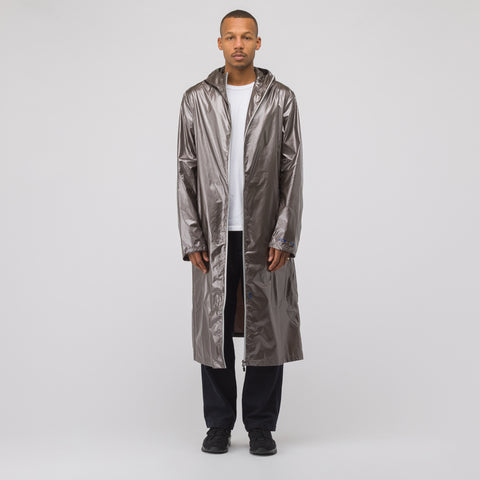 Oakley by Samuel Ross Long Coat in Metallic Bronze - Notre