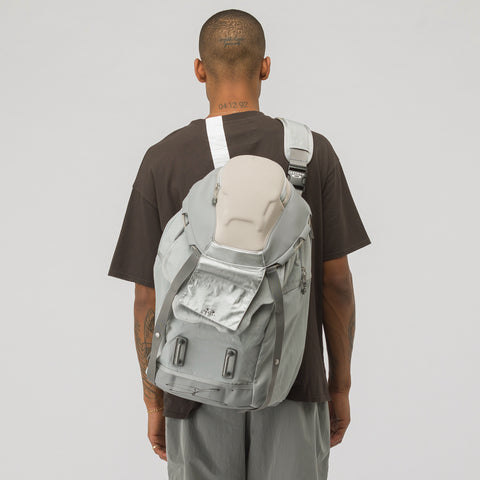 Oakley by Samuel Ross Metal Backpack in Grey - Notre