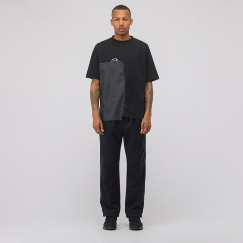 Oakley by Samuel Ross Multifabric T-Shirt in Black - Notre