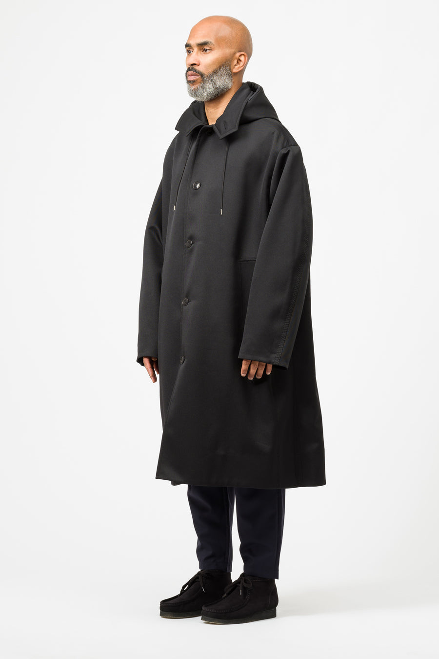 OAMC Tusk Coat in Black - Notre