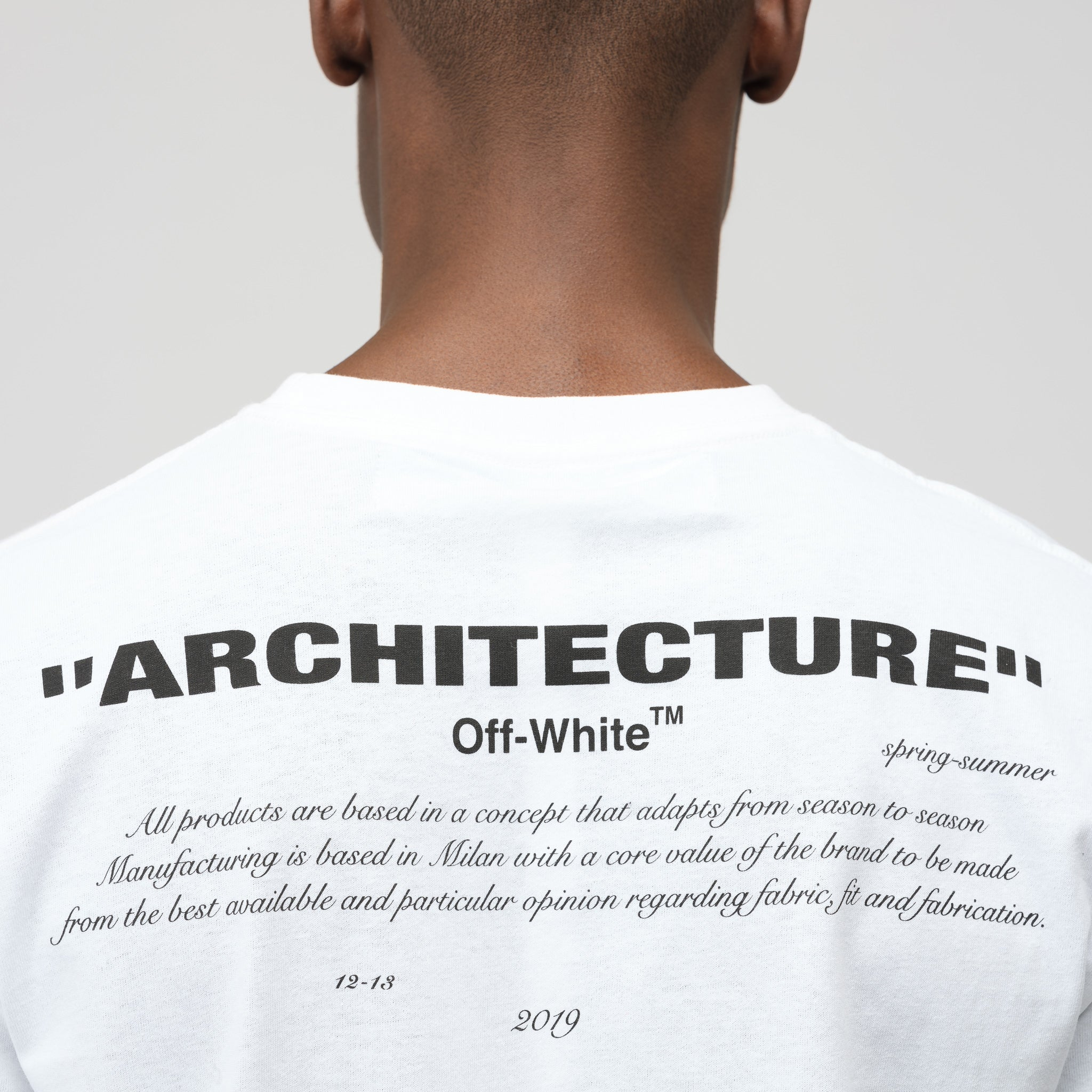 Architecture T-Shirt in White