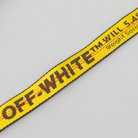 Off-White Denim Bottle Carrier in Vintage Black - Notre