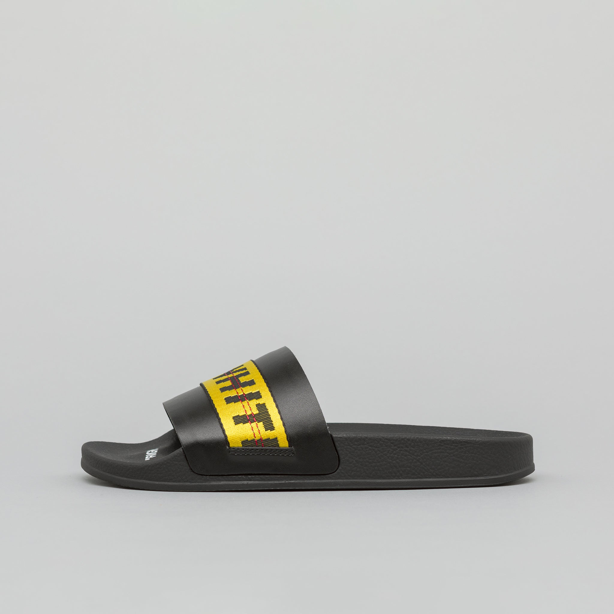 Industrial Slider in Black Yellow