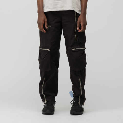 Off-White Multipocket Cargo Pant in Black - Notre