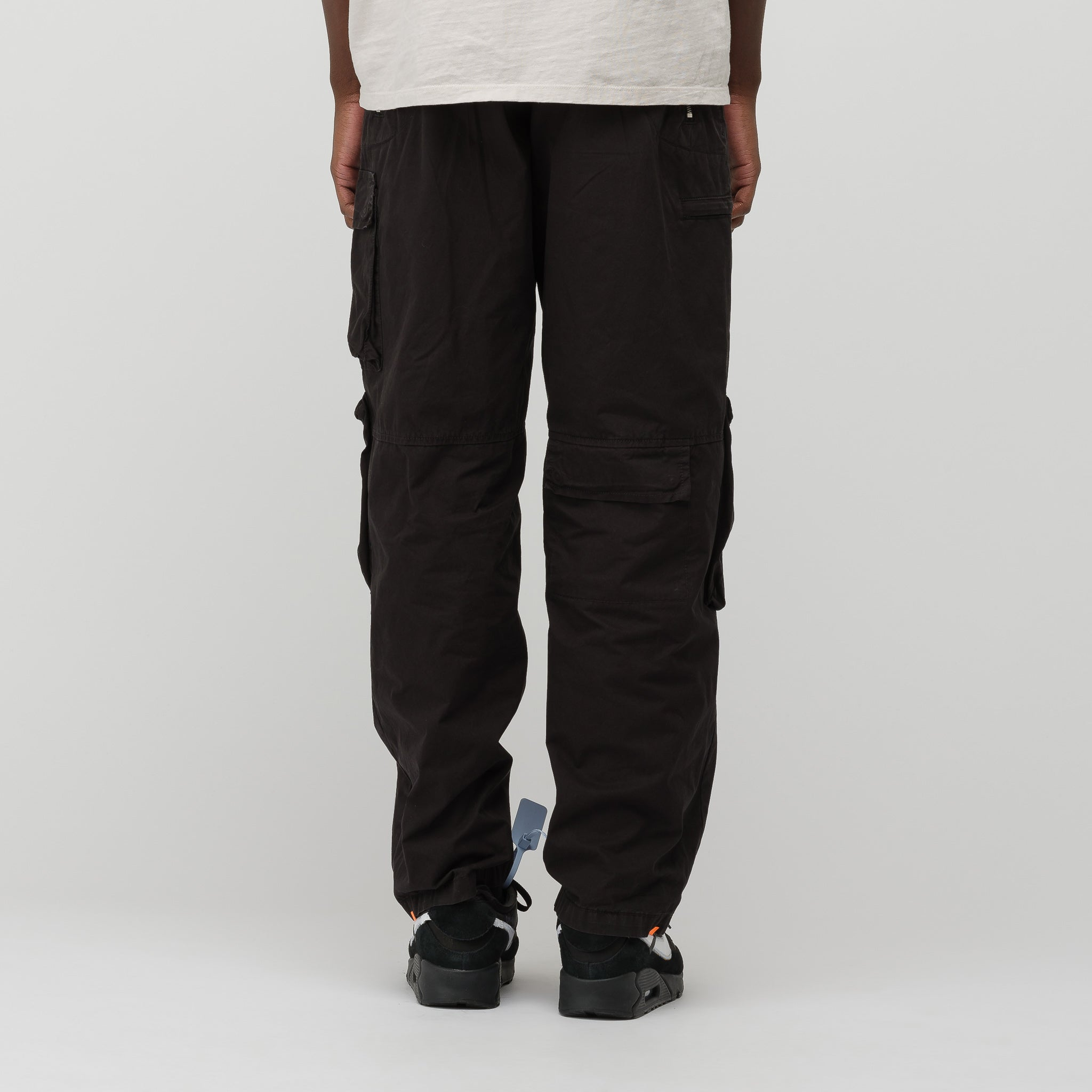 Multipocket Cargo Pant in Black