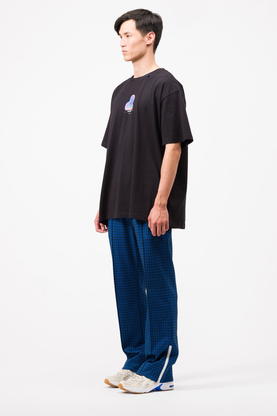 Off-White Thermo Men S/S Over T-Shirt in Black/Multi - Notre