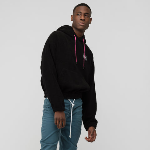 Off-White Towel Hoodie in Black - Notre