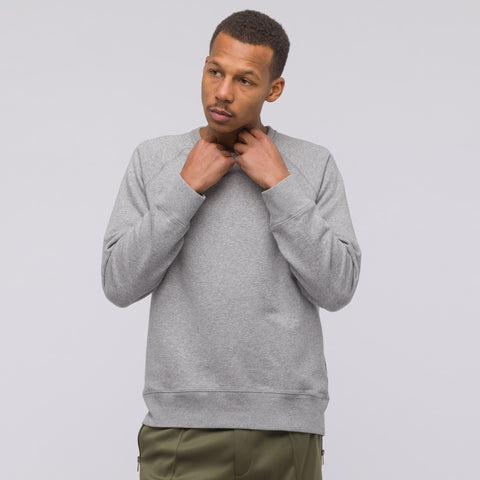 Our Legacy 50's Great Sweat in Grey Melange - Notre