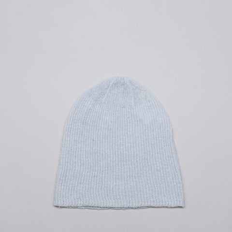 Our Legacy Alpaca Wool Knitted Hat in Ice Blue - Notre