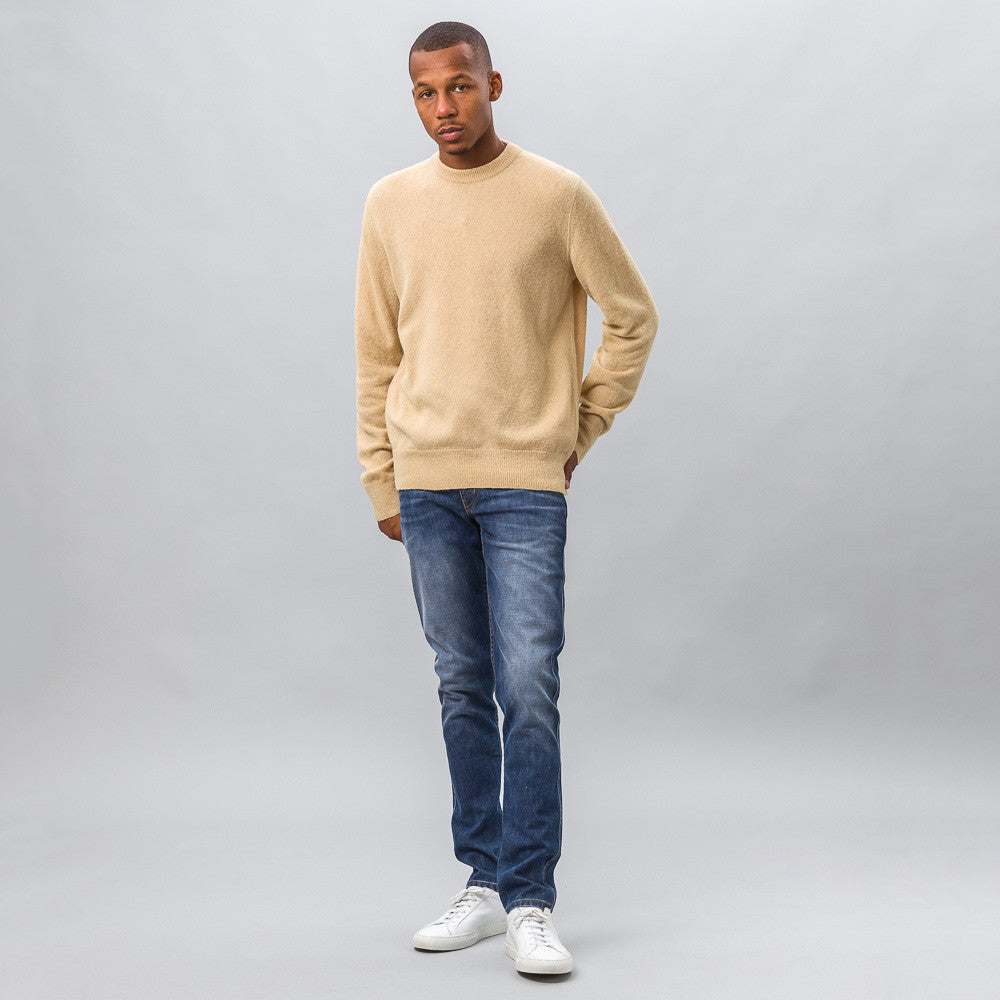 Our Legacy - Base Roundneck in Camel Light Wool - Notre - 1