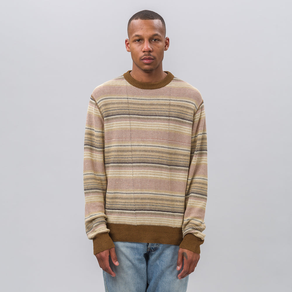 Our Legacy Base Roundneck in Distressed Linen - Notre
