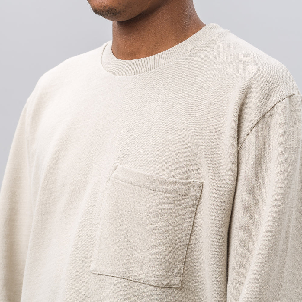 Our Legacy Box Longsleeve in Sand Cotton - Notre