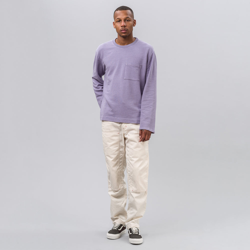 Our Legacy Box Longsleeve Shirt in Orchid Cotton - Notre