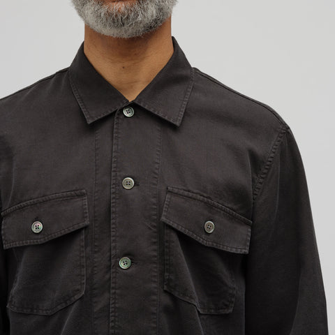 Our Legacy Chamois Shirt in Black - Notre