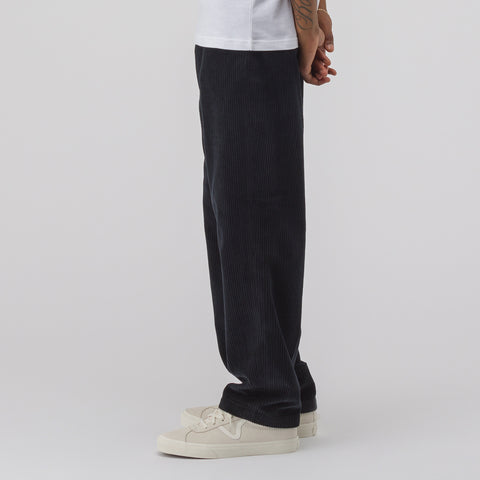 Our Legacy Chino 22 in Washed Black Corduroy - Notre
