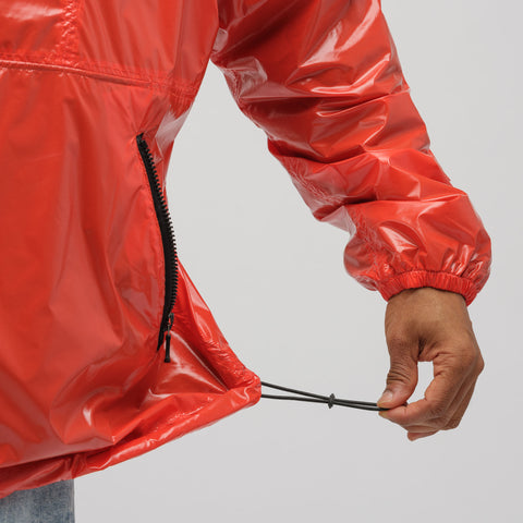 Our Legacy Constructed Festival Parka in Garbage Red - Notre