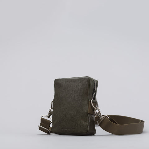 Our Legacy Delay Mini Bag in Military Green - Notre