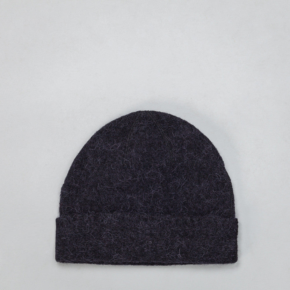 Our Legacy - Knitted Hat in Black Needled - Notre - 1
