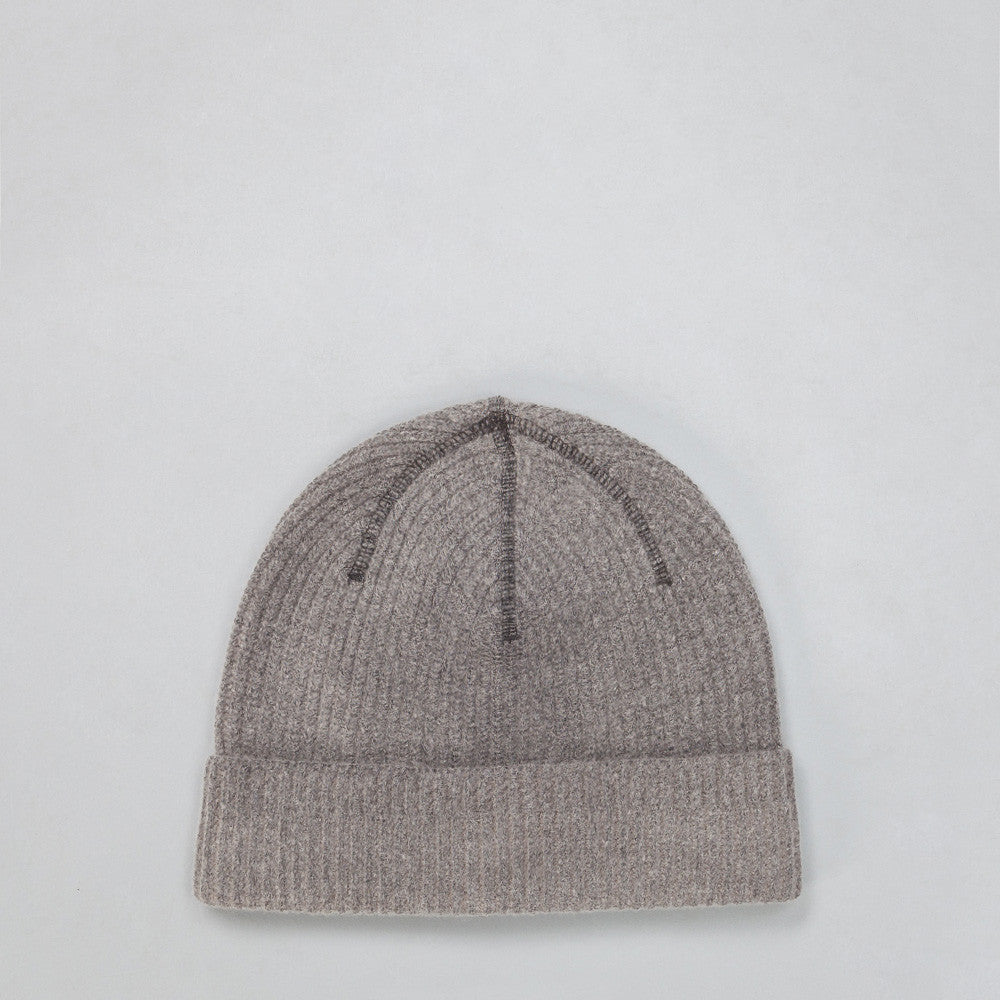 Our Legacy Knitted Hat in Cloud Grey Vegetable Dye