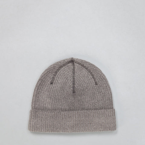 Our Legacy Knitted Hat in Cloud Grey Vegetable Dye - Notre