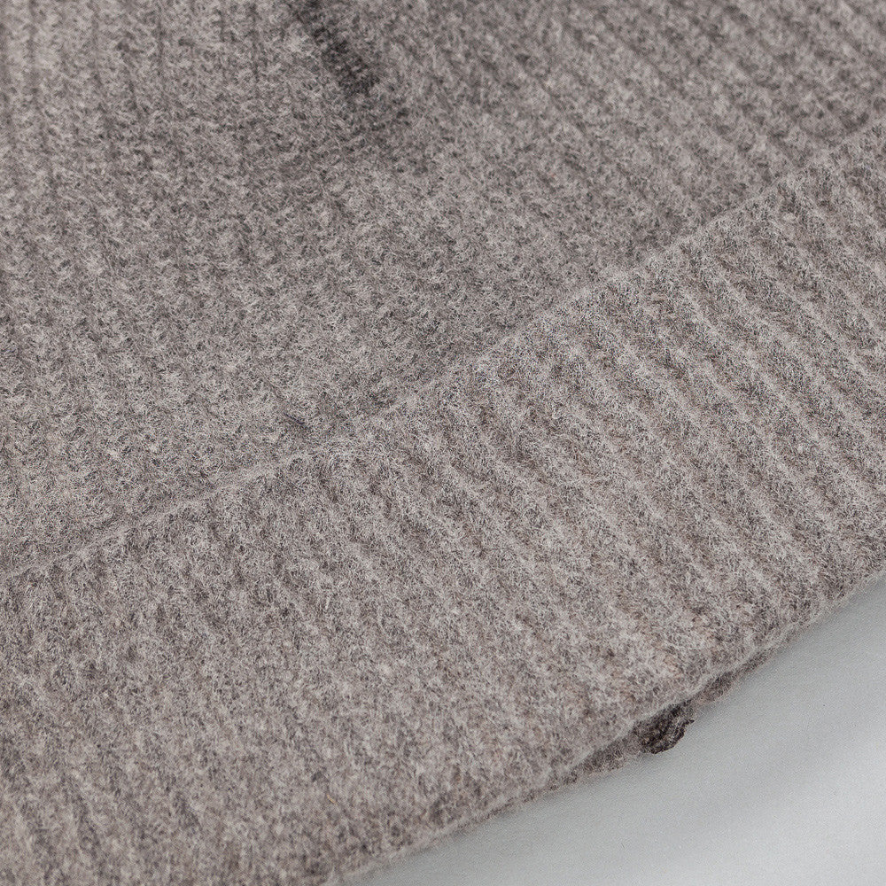 Our Legacy - Knitted Hat in Cloud Grey Vegetable Dye - Notre - 1
