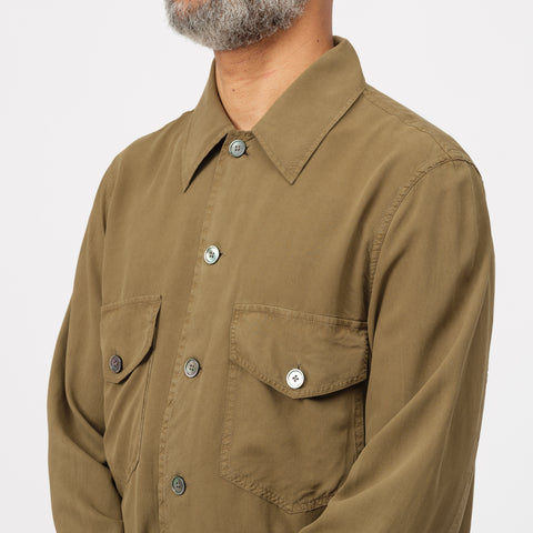 Our Legacy Loan Jacket in Dark Olive - Notre