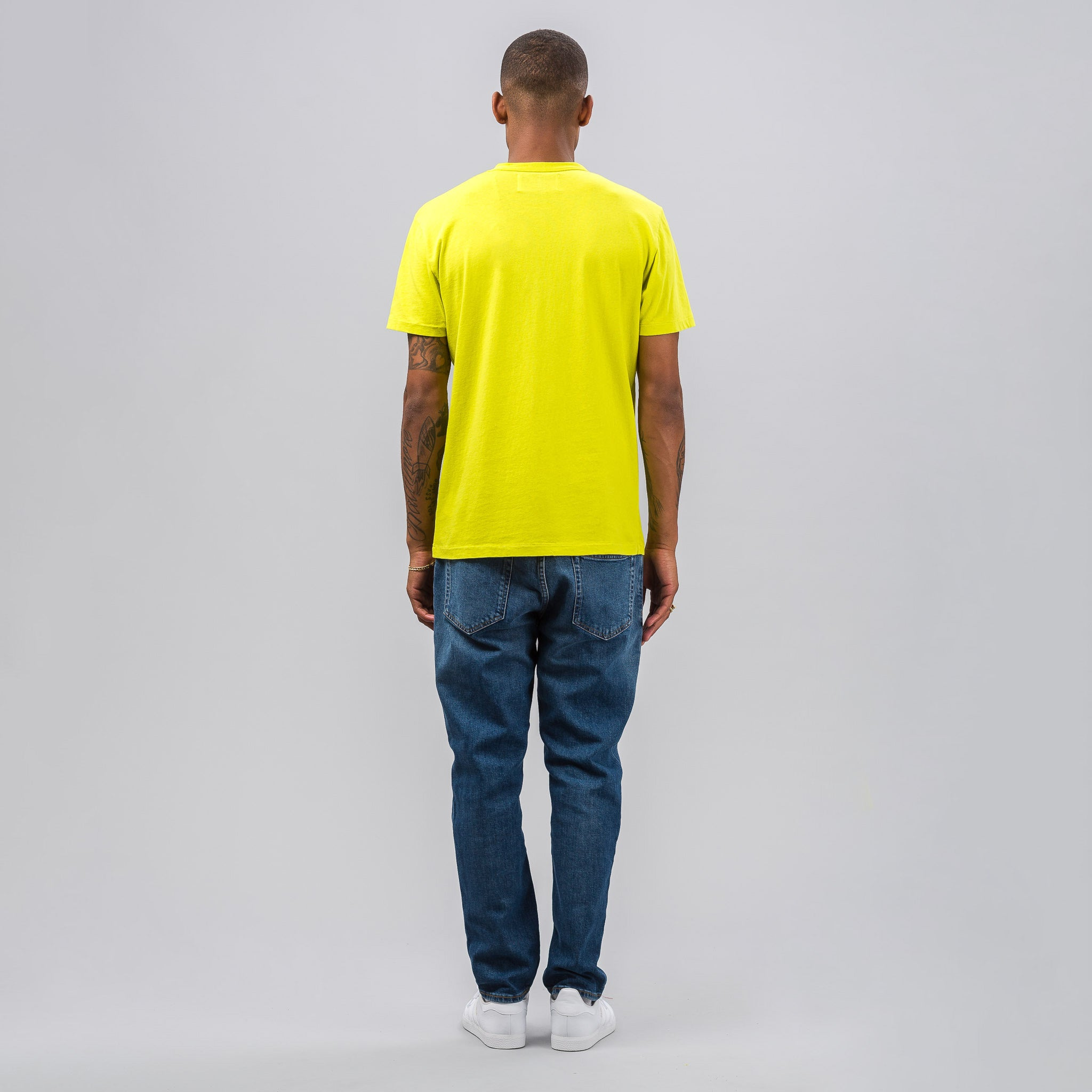 Perfect T-shirt in Citron Army Jersey