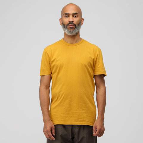 Our Legacy Perfect T-Shirt in Honey Army Jersey - Notre