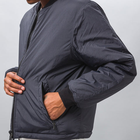 Our Legacy Puffed Bomber in Navy Coating - Notre