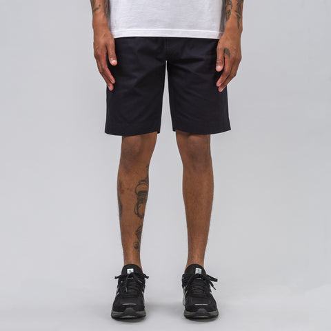 Our Legacy Relaxed Shorts in Navy Light Gabardine - Notre