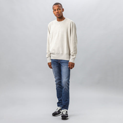 Our Legacy Reversed Sweatshirt in Cloud Grey Heavy Terry - Notre