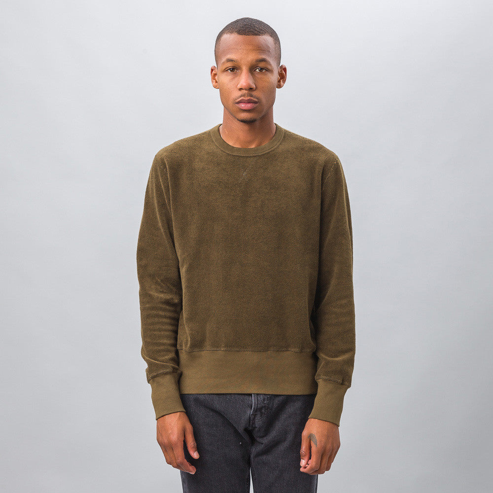 Our Legacy - Reversed Sweatshirt in Dry Mudd Heavy Terry - Notre - 1