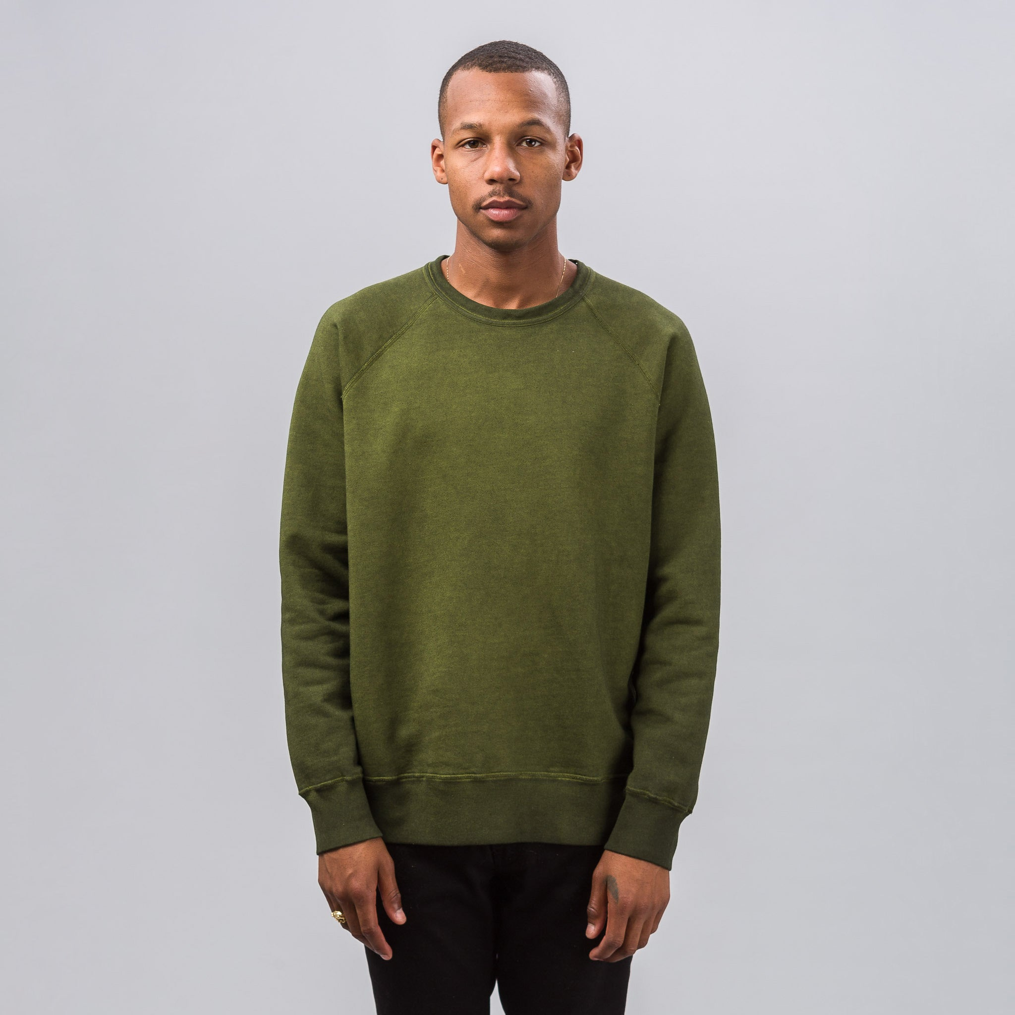 Reversible Sweatshirt in Solaro Lemongrass
