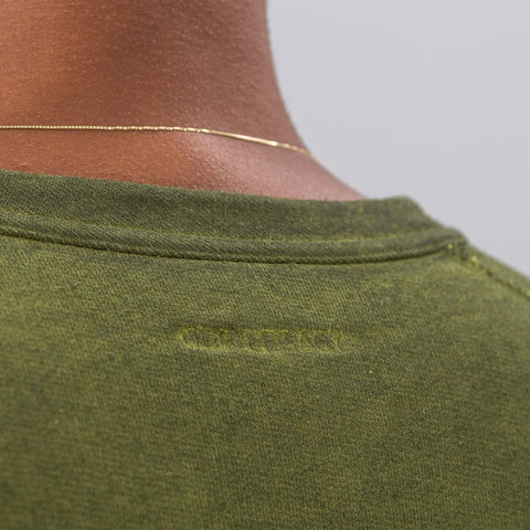 Our Legacy Reversible Sweatshirt in Solaro Lemongrass - Notre