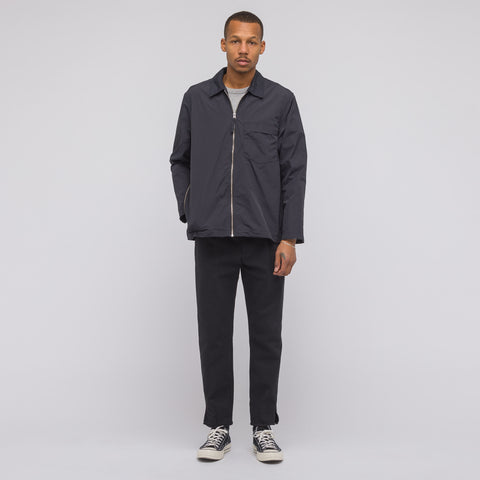 Our Legacy Tech Jacket in Navy Nylon - Notre