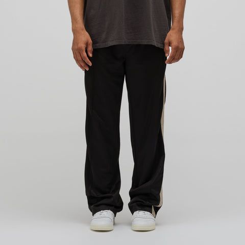 Our Legacy Track Pants in Black Row Stripe - Notre