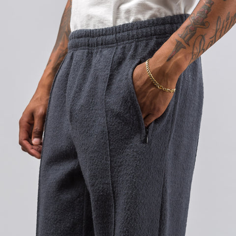 Our Legacy Track Pants in Graphite Curl - Notre