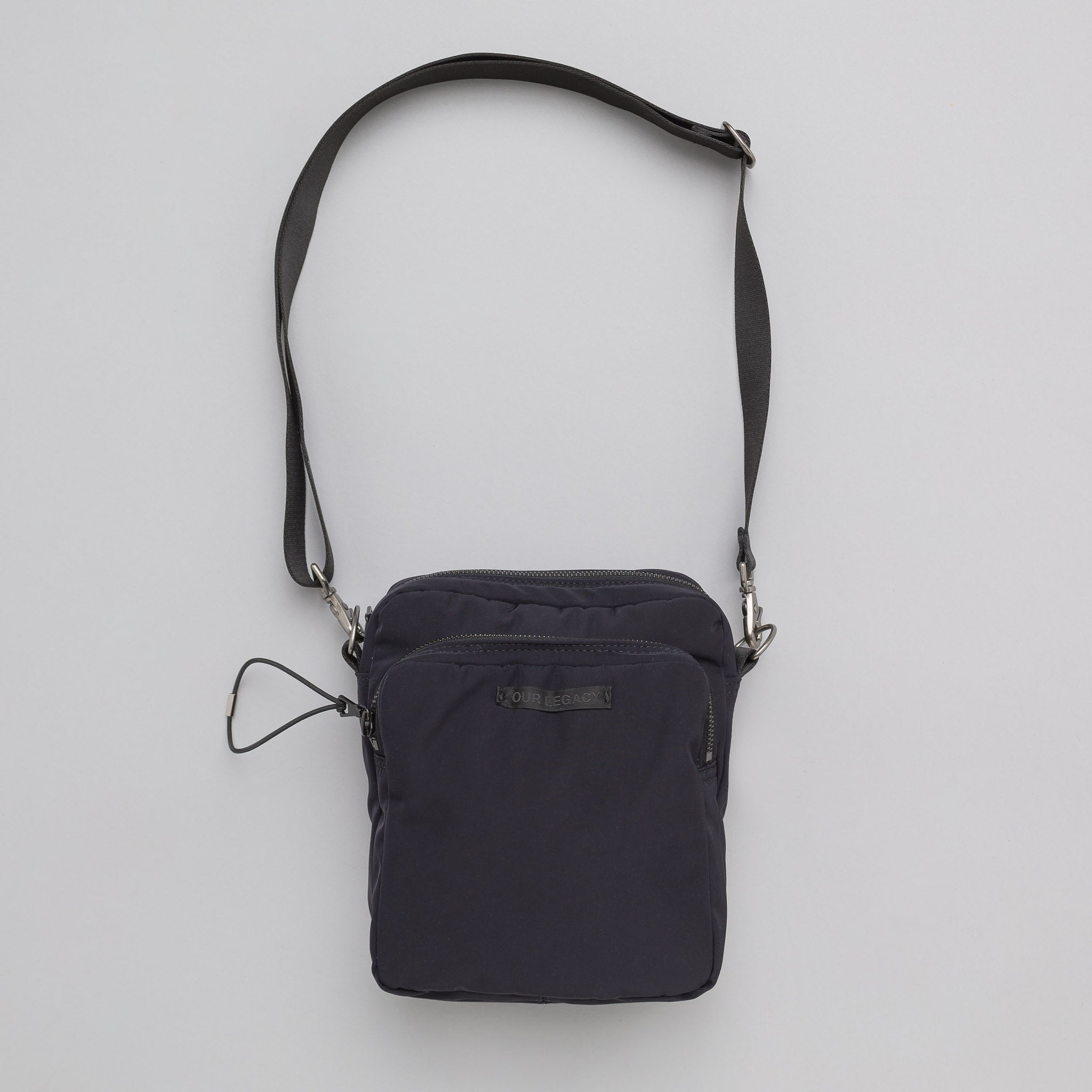 Valve Cross Body Bag in Black