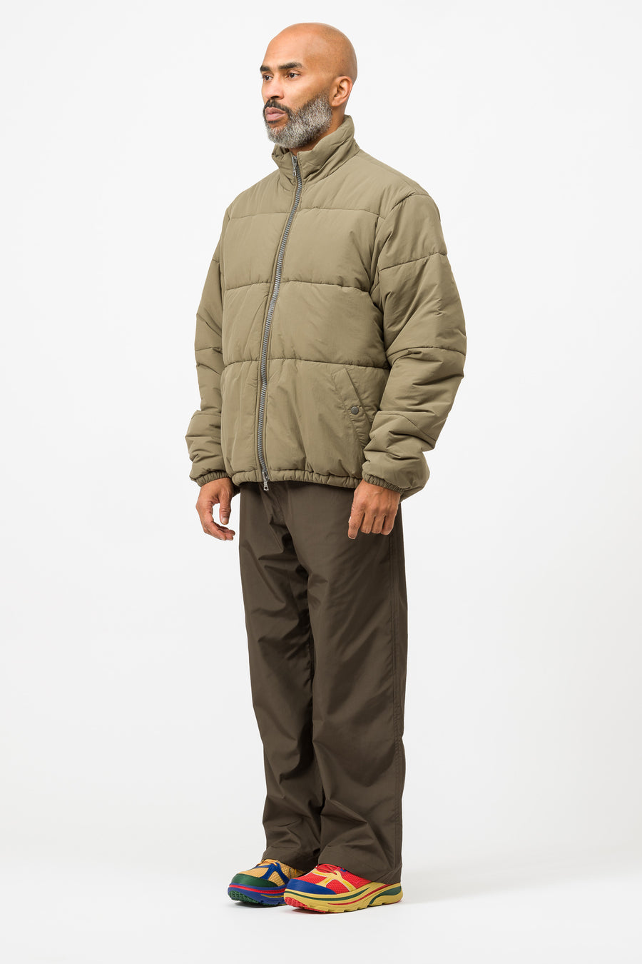 Our Legacy Walrus Puffa in Olive - Notre