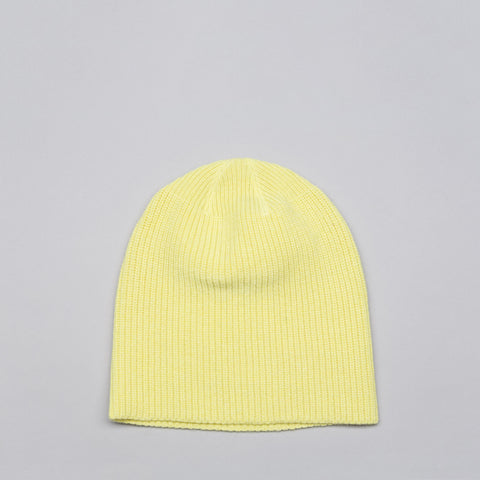 Our Legacy Wool Knitted Hat in Citron - Notre