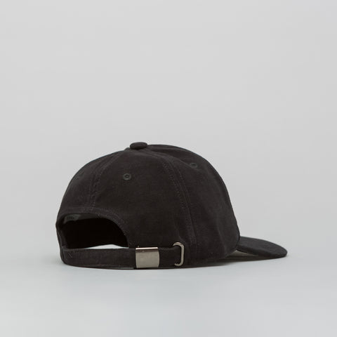 Our Legacy Moleskin Ballcap in Black - Notre
