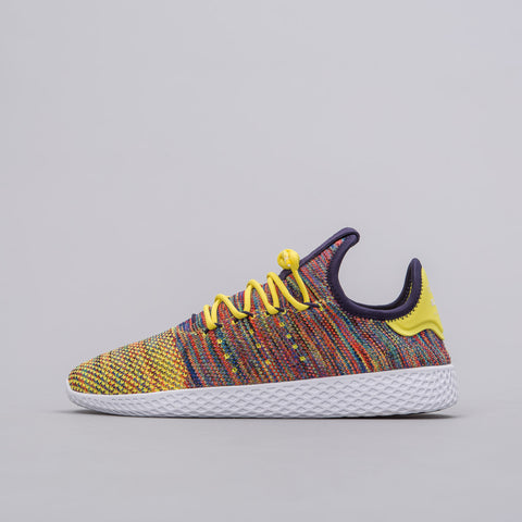 Pharrell Williams Tennis HU Shoes in Yellow/Ink/White