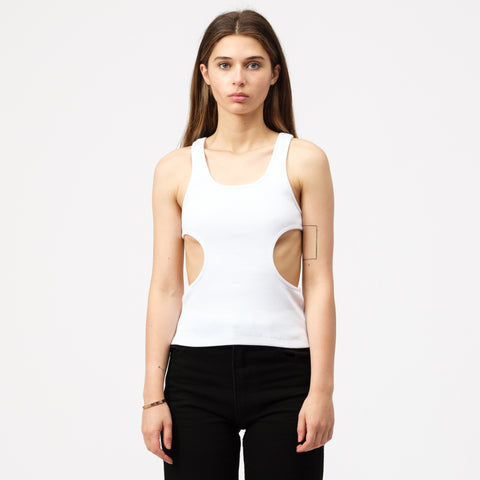 Pihakapi Rib Cotton T-Shirt in Isabelline - Notre